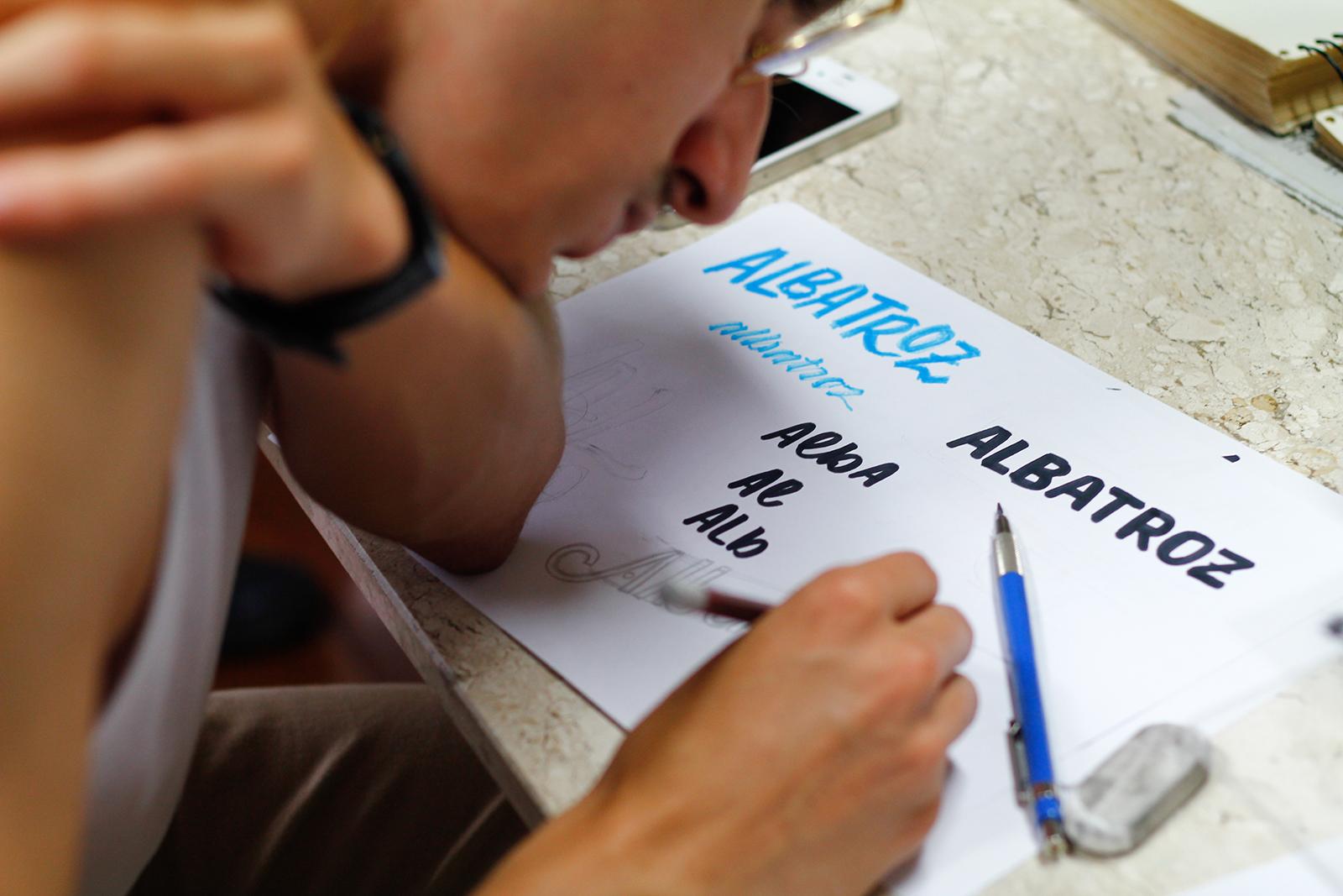 Bruno Projeto Albatroz Criação do Cartaz