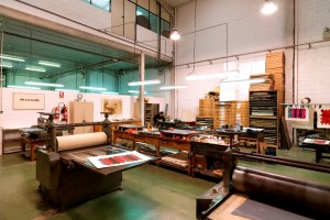 Oficina Experimental Serigrafia na Galeria de Gravura