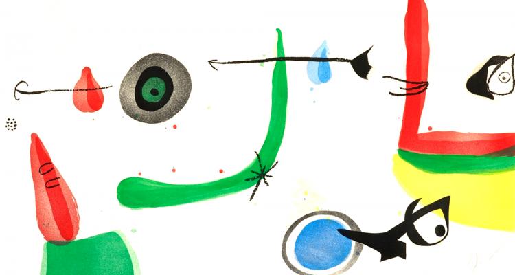 Joan Miró - água tinta