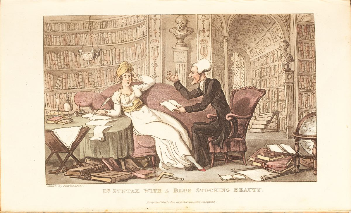 'Doctor Syntax' (1821), de Thomas Rowlandson (1756 - 1827)