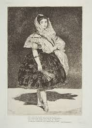 'Lola de Valence' (sem data), de Edouard Manet (1832-1883)