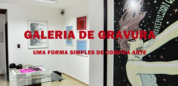 Galeria de Gravura vista interna da Galeria de Floripa