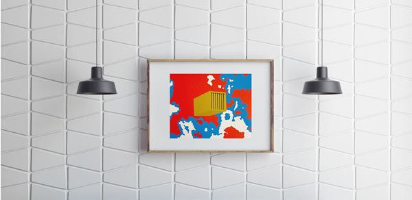 Gravura com o artista plástico Eduardo Srur