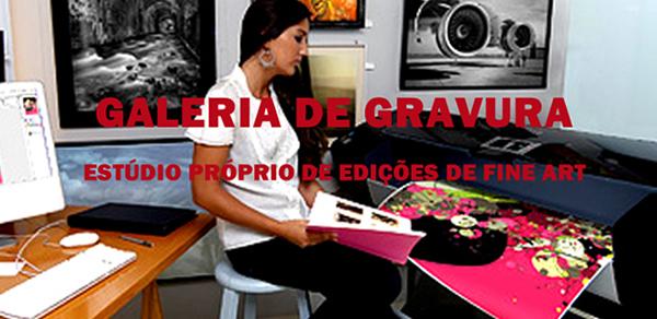 A Galeria de Gravura tem um estúdio especializado em Impressões Fine Art