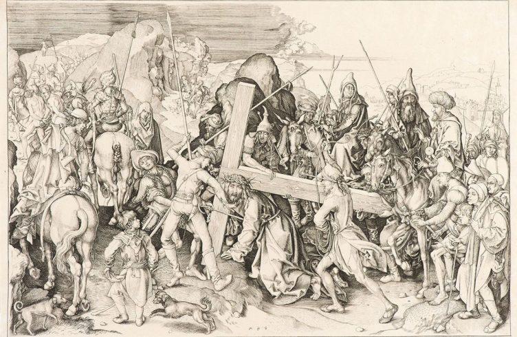 'Cristo carregando cruz' (1475), de Martin SchongauerFoto: