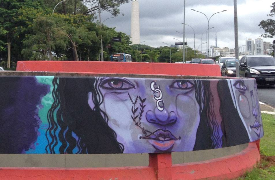 Grafite Lelê Paes