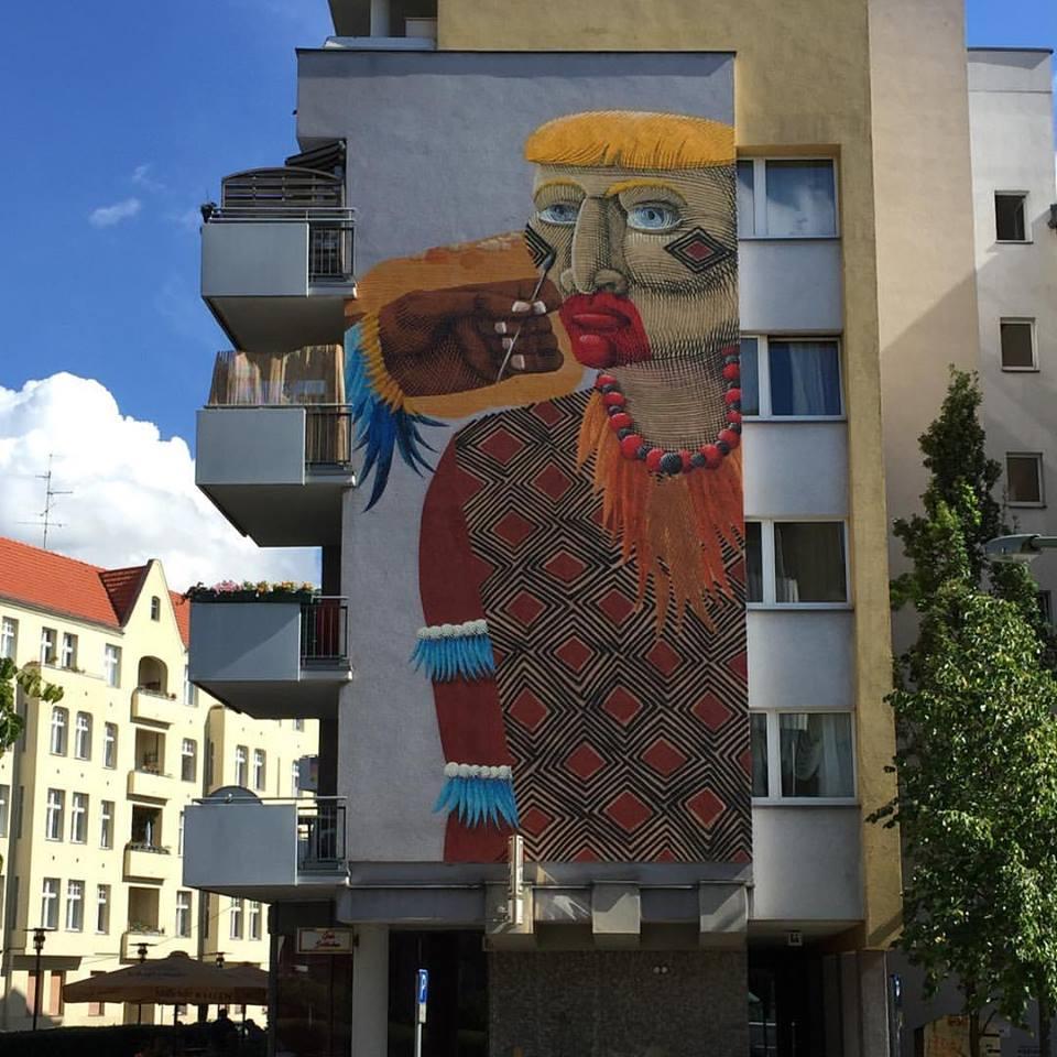 Grafite do Nunca em Berlim