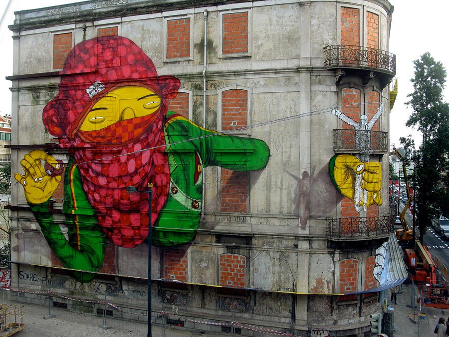Grafite de OsGemeos