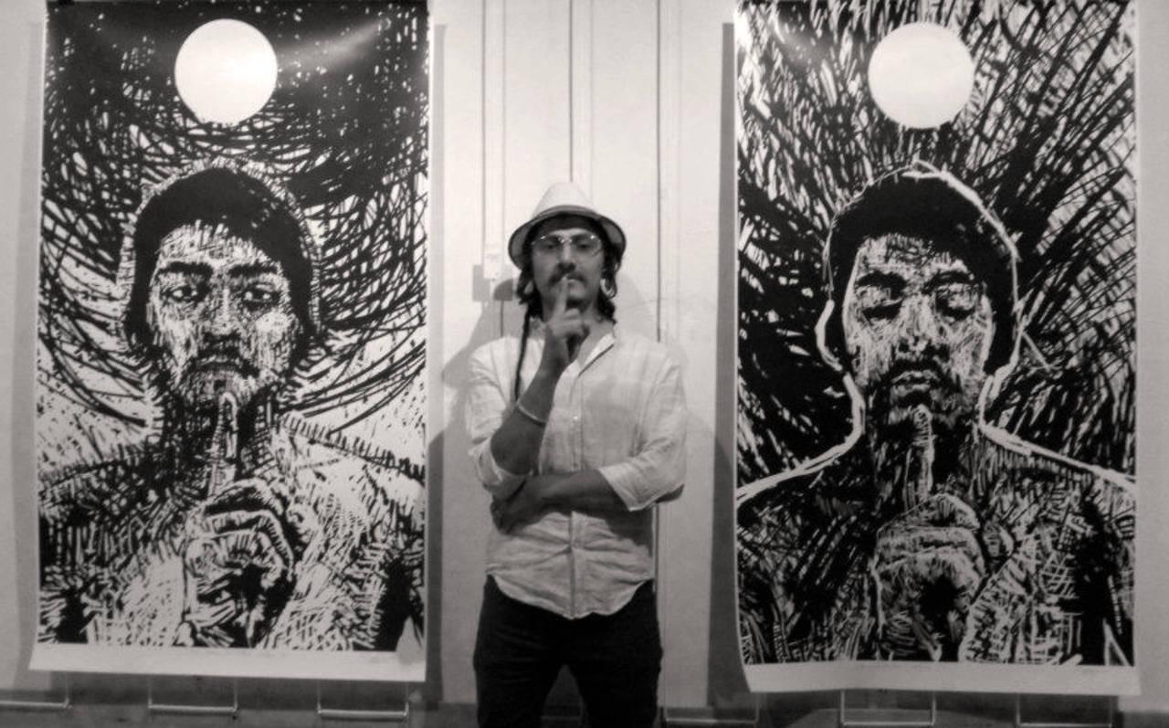 Carlos Bautistab - Xilogravura grande formato