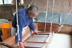 Produção de papel japonês para produção de gravuras na técnica de Moku Hanga