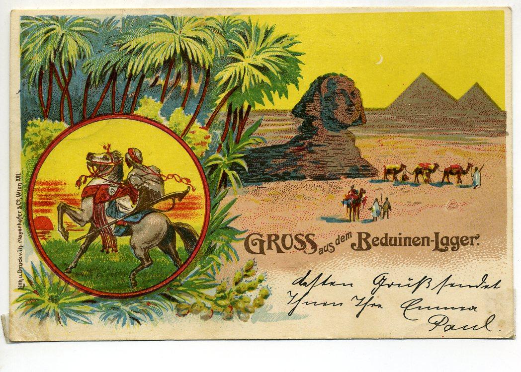 Cromolitografia - cartão postal