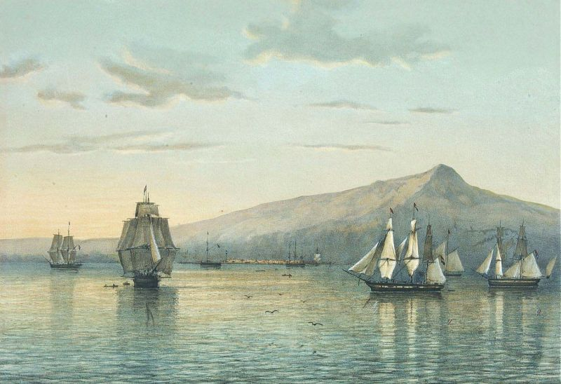 Uma litografia de Abraham Salm (1801-1876)