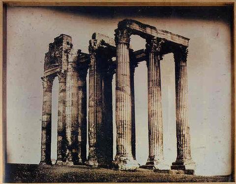 Joseph-Philibert Girault de Prangey s 113. Athènes, T[emple] de J[upiter] olympien pris de l est (1842) sold for $922,488 in 2003