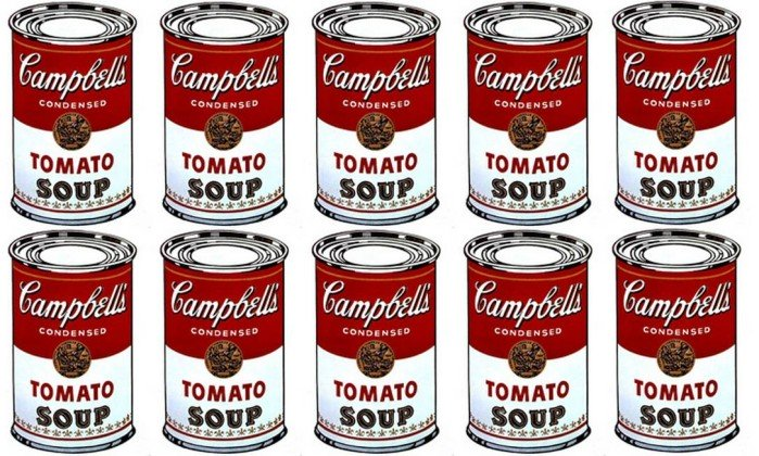 Soup Andy Warhol