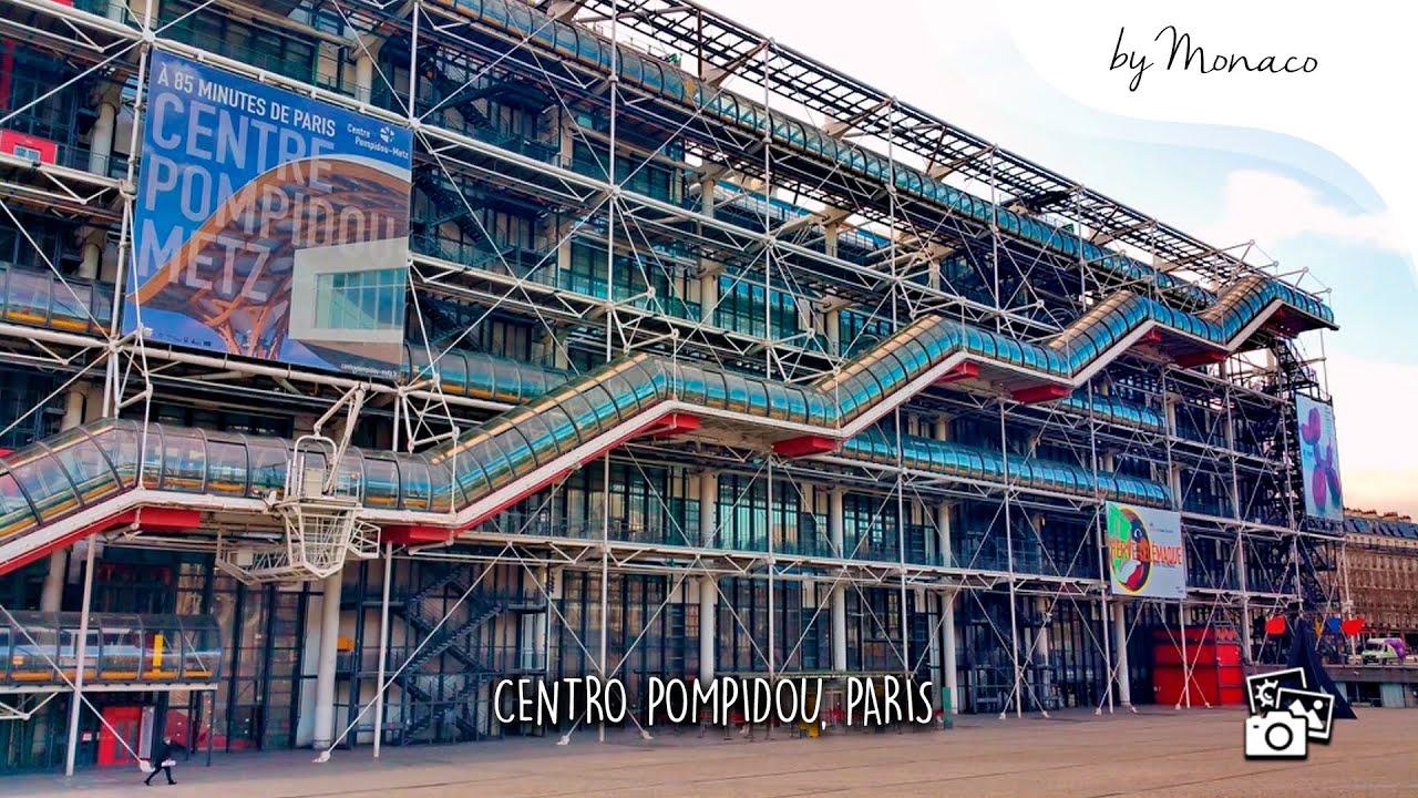 YouTube CENTRO POMPIDOU, PARIS | COMPLEXO CULTURAL